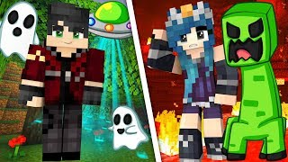 Can we SURVIVE these crazy disasters in Minecraft?!
