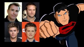 Comparing The Voices - Superboy
