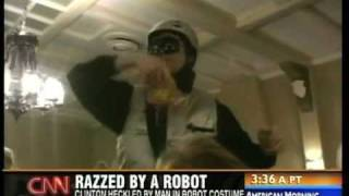 Bill Clinton vs. RoboProfessor News Montage