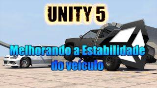 Unity 5 - Melhorar a estabilidade dos veículos com Wheel Collider
