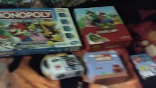 My Super Mario Bros board game collection