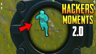 PUBG MOBILE HACKERS & CHEATERS MOMENTS #2