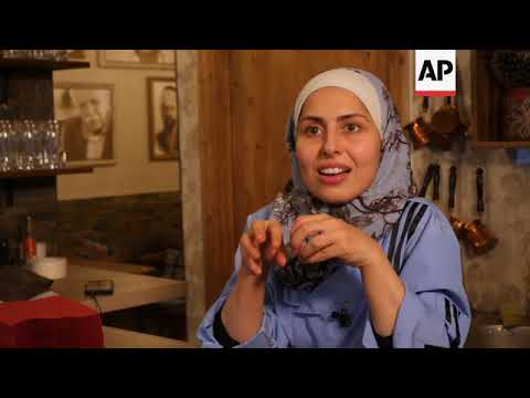 Famous Syrian TV chef opens restaurant in Berlin ++REPLAY++