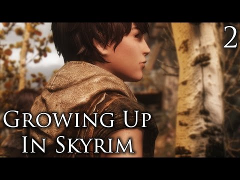 Skyrim Mods: Growing Up In Skyrim (WIP) - Part 2