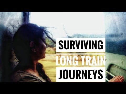 How To Survive Long Train Journeys | Tips For Survival | The HowStation