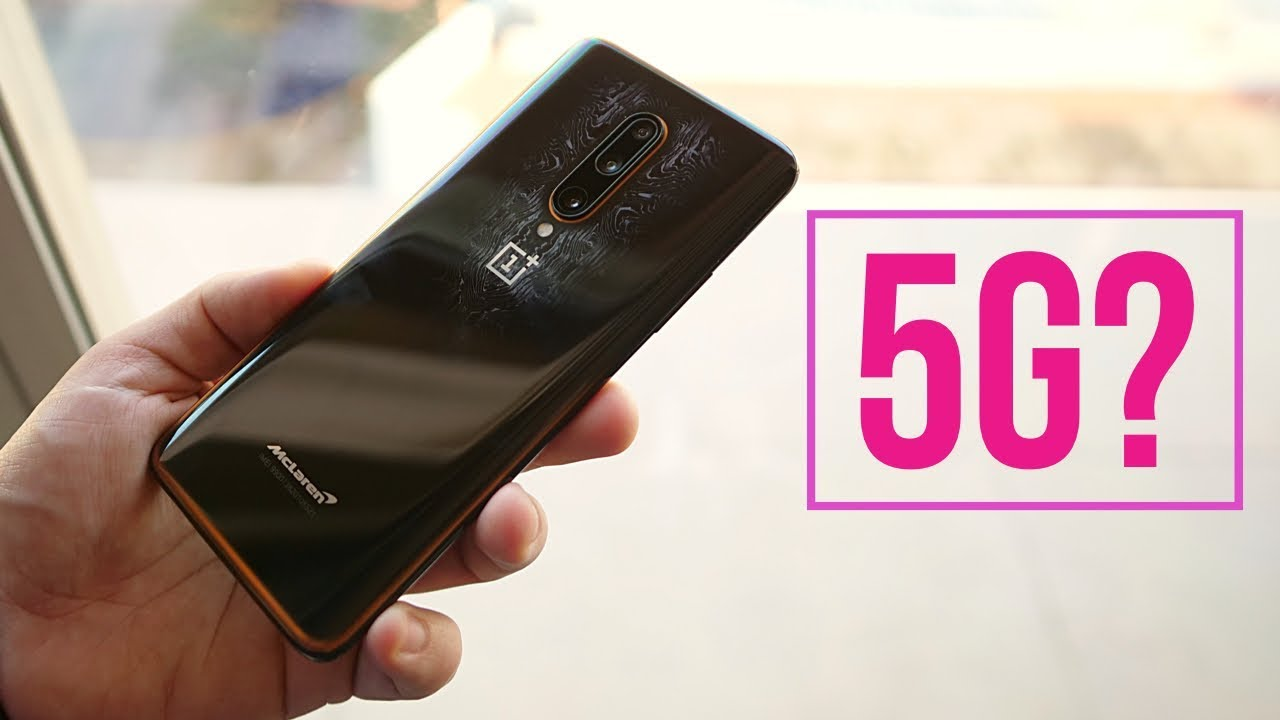 OnePlus 7T Pro 5G McLaren 5G Hands-on