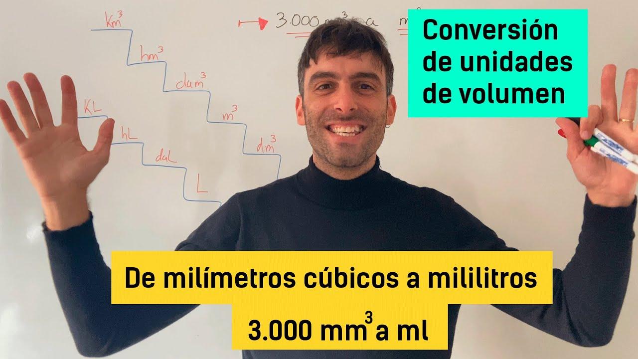 Sabrías Pasar De Metros Cúbicos A Litros Conversión De Unidades De Volumen Yo Soy Tu Profe