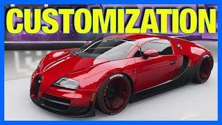 Forza Horizon 4 : NEW CUSTOMIZATION GAMEPLAY!!