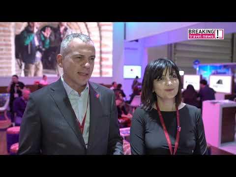 Florian Sengstschmid and Fidan Aliyeva, Azerbaijan Tourist Board