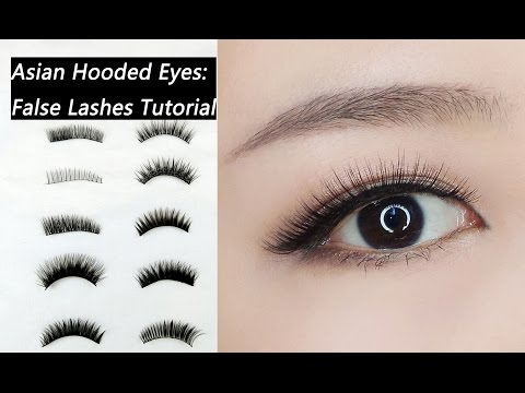 7bf1a8e8d01 False Lashes Tutorial For Beginners: How to Choose and Apply False Lashes  for Asian Hooded Eyes