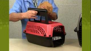 Petsolutions: Top Load Kennel Cab Carrier For Dogs, Cats, And Small Pets