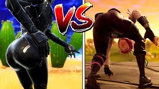 WHO IS THICCER?😍❤️OBLIVION OR POWER CHORD? (fortnite replay theather)