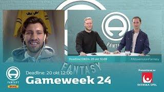 FanTV Allsvenskan Fantasy: Gameweek 24