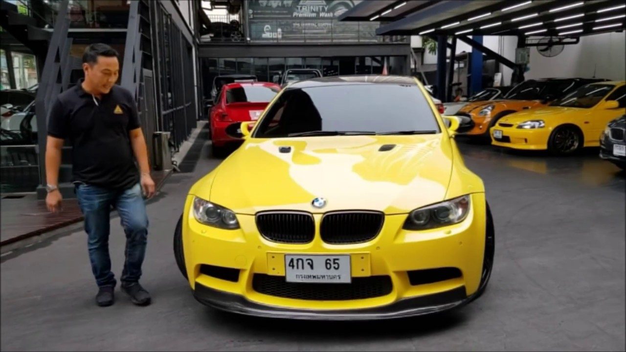 รีวิวรถ BMW M3  น่าสะสม trinity motor