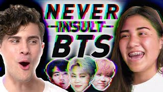 I spent a day with BTS ARMY (K-POP IDOLS)