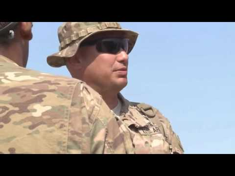 US Army Sniper Candidates In Training at Djibouti Africa