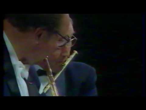 "Jean Pierre Rampal and Alain Marion play Mozart from ""Die Zauberflöte""."