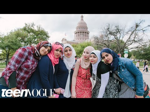 What Does America Mean to You? | Ask A Syrian Girl | Teen Vogue