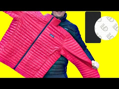 Down Jacket - How To Repair Rips & Tears
