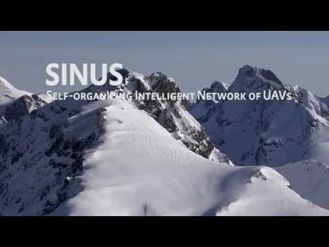 Self-organizing Intelligent Network of UAVs