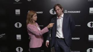 Day 8 Interview with GM Alexander Grischuk