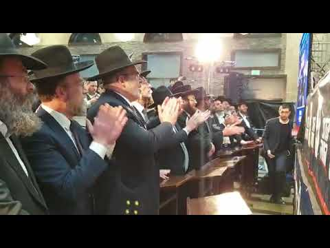 מודיעין עילית רוקדת לכבוד מרן שר התורה הרב קנייבסקי