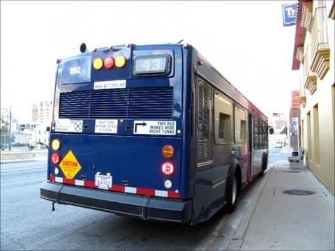 VIA Metropolitan Transit #892 (The Ride) - YouTube