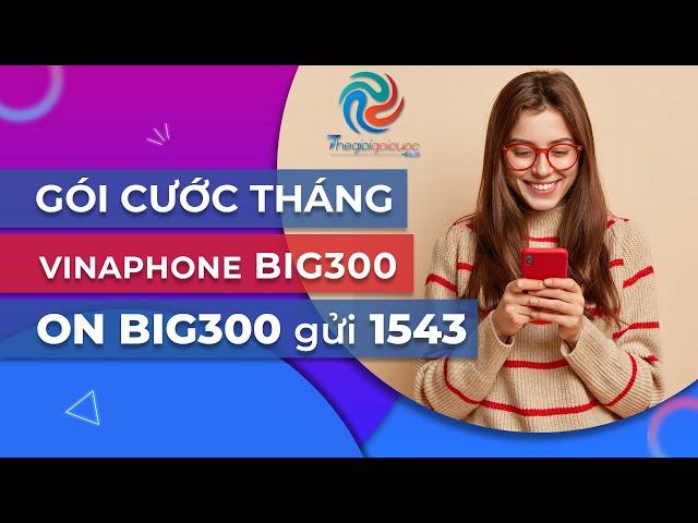 Hướng dẫn đăng ký Gói cước 4G VINAPHONE tháng - CHUYÊN ĐỀ GÓI BIG300 VINAPHONE