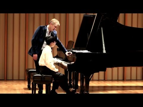 Master Class with Jean-Yves Thibaudet: Haoxian Hu Plays Rigoletto by Liszt