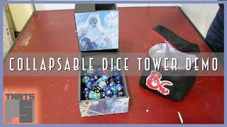 Collapsable Dice Tower - Demo