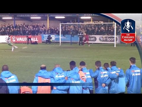 Solihull Moors 1-1 (4-2 Pen) Yeovil Town (Replay) Emirates FA Cup 2016/17 (R1) | Goals & Highlights