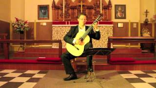 Bradford Werner Plays Gigue, E Minor Suite by Sylvius Leopold Weiss