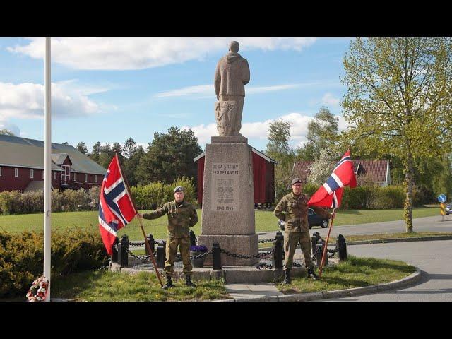 2020-05-08 - Markering av frigjørings- og veterandagen 8. mai i Drammen og Øvre Eiker