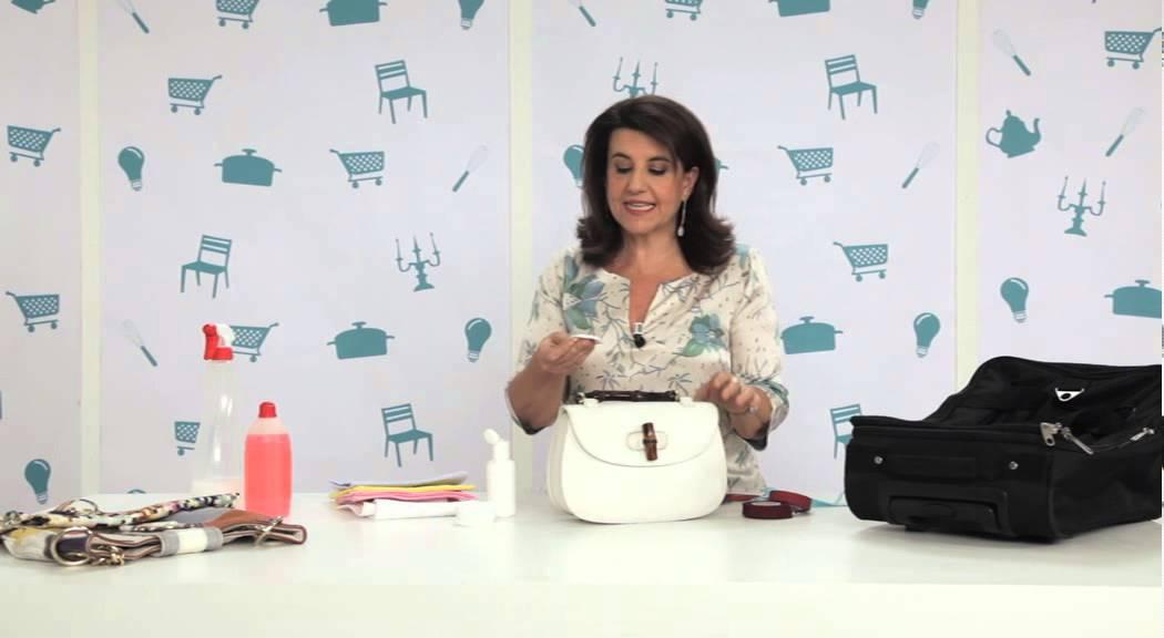 Come pulire borse in pelle e valigie - YouTube 4519967e96a