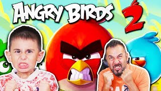 BU KUŞLAR NEDEN BU KADAR KIZGIN ACABA?! | EGEMEN KAAN İLE ANGRY BIRDS 2 OYNUYORUZ