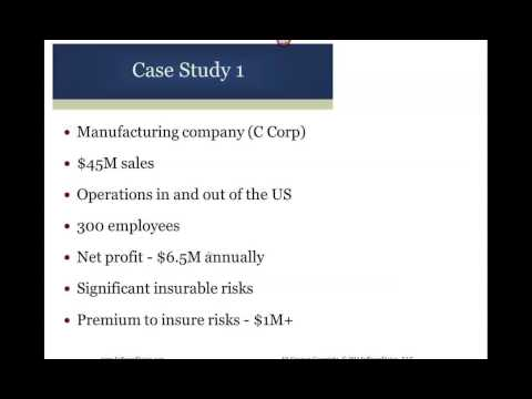 Captive Insurance Webinar - Cypress Partners