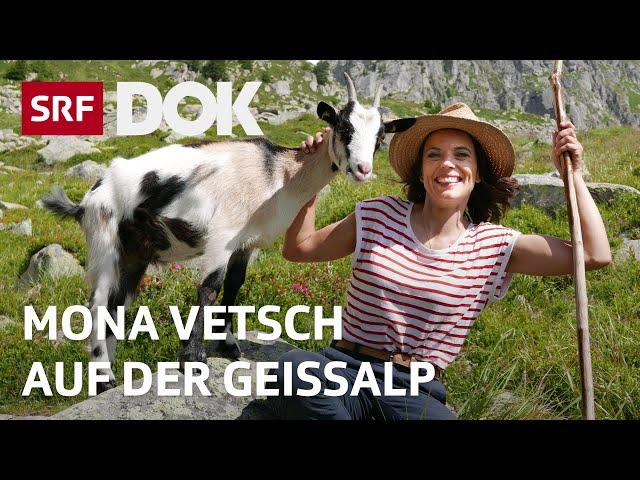 Mona Vetsch auf der Geissalp | Mona mittendrin 2020 | Doku | SRF DOK