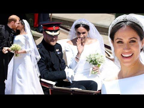 El vestido de Megan Markle en la Boda Real con el Príncipe Harry de Givenchy: detalles de los looks