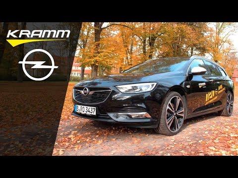 Der Opel Insignia Exclusive - Business Und Familie Im Test Beim Autohaus KRAMM