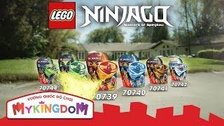 Đồ chơi lắp ráp Lego Ninjago Airjitzu - Tuyệt chiêu lốc xoáy trên không