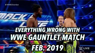 Episode #421: Everything Wrong With WWE SmackDown: GAUNTLET MATCH (Feb. 2019)