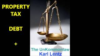 058 - Karl Lentz - Property Tax; Debt