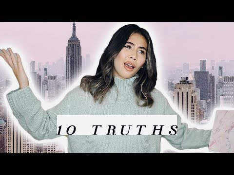 10 TRUTHS | WHAT LIVING IN NEW YORK IS REALLY LIKE!