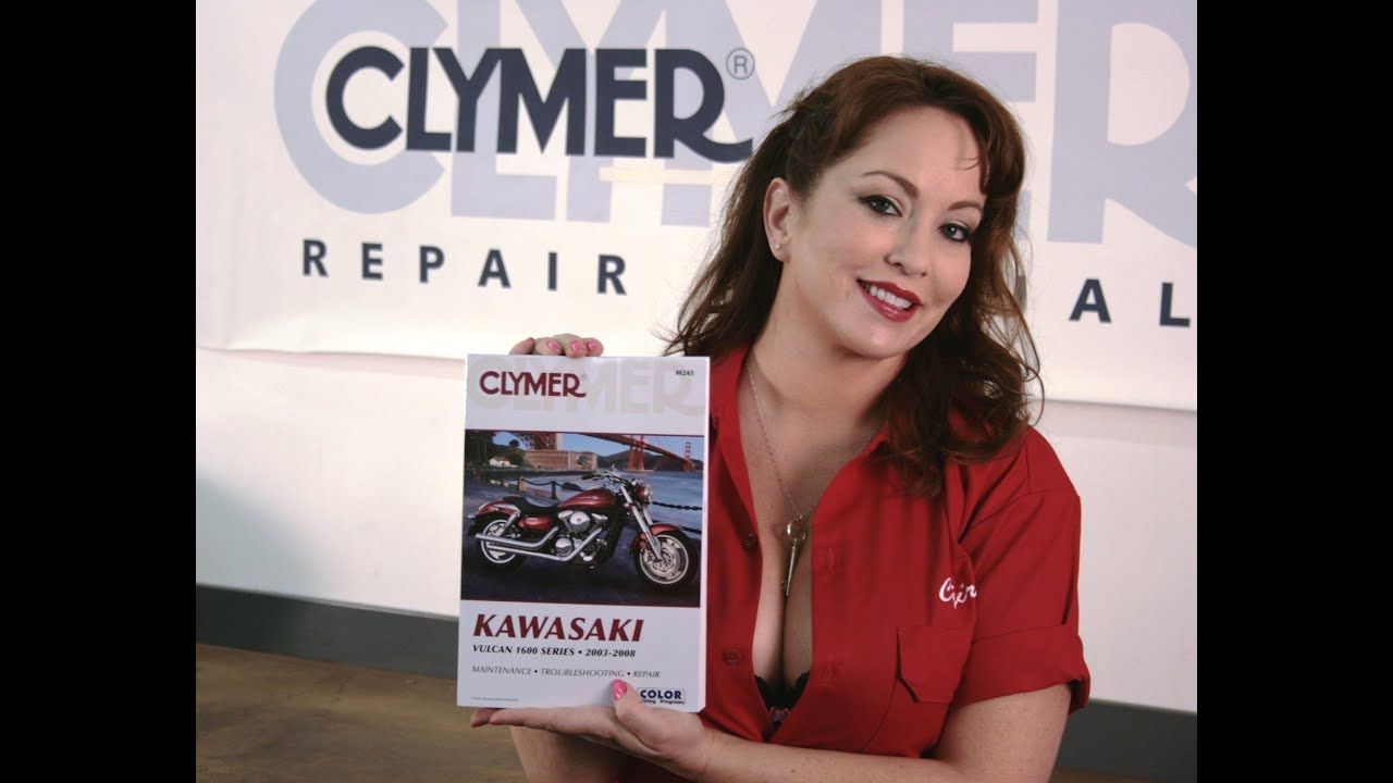 small resolution of clymer manuals kawasaki vulcan 1600 classic mean streak nomad repair shop service manual video