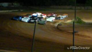 NeSmith Panhandle Late Model Feature | Southern Raceway 4/22/17