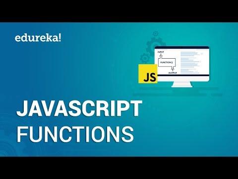 JavaScript Functions | JavaScript Tutorial for Beginners | JavaScript Training | Edureka thumbnail