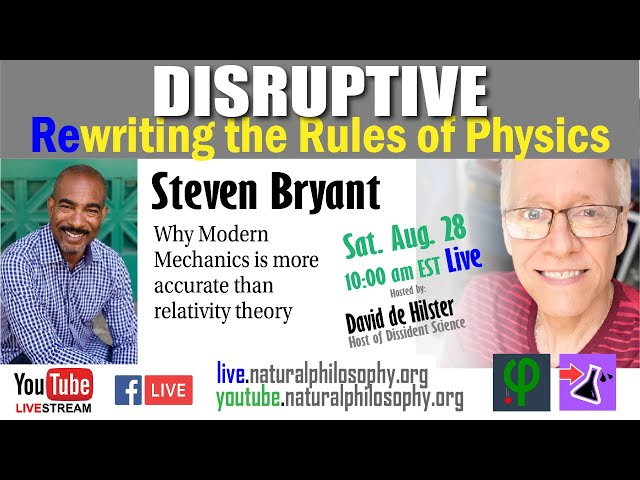 Disruptive: Rewriting the Rules of Physics with Steven Bryant