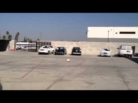 Ben Clymers Automotive Repair & Body shop Airbag detonation video #1