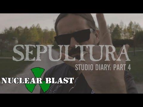 SEPULTURA - Machine Messiah: Studio Diary #4 - Rhythm Guitars (OFFICIAL STUDIO TRAILER)