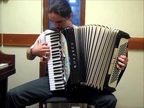 Dream Is Collapsing from Inception accordion